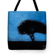 Almost Dark Tote Bag