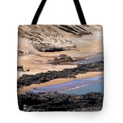 Almost Deserted Tote Bag