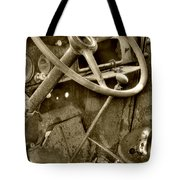 Almost Gone Sepia Tote Bag
