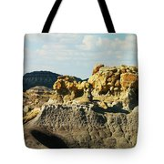 Almost Moonscape Tote Bag
