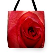 Almost Red Tote Bag