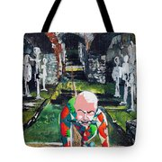Almost Safe Among The Fittest Tote Bag