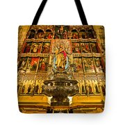Almudena Cathedral Tote Bag