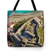 Almunecar Castle From The Air Tote Bag