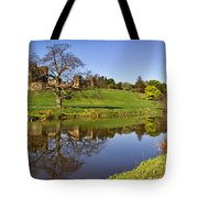 Alnwick Castle Panorama Tote Bag