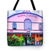 Aloha Theatre Kona Tote Bag