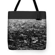 Alone At Sea Tote Bag