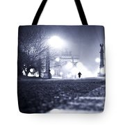 Alone Brooklyn Nyc Usa Tote Bag