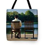 Alone Tote Bag by Charles Dobbs