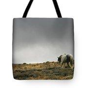 Alone - Wild Horse - Green Mountain - Wyoming Tote Bag