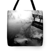 Alone I Sit Tote Bag