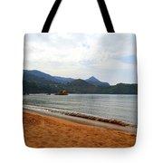 Alone In An Island Tote Bag