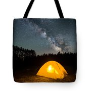 Alone Under The Stars Tote Bag