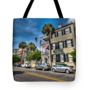 Along The Battery Tote Bag