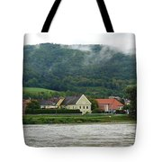 Along The Blue Danube Tote Bag