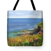 Along The Bluff Tote Bag