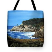 Along The California Coast Tote Bag