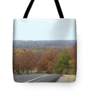 Along The Country Highway 1 Tote Bag