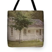 Along The Country Road Tote Bag