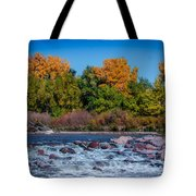 Along The Creek Tote Bag