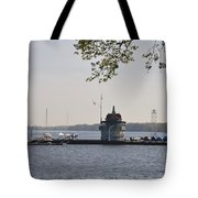 Along The Delaware River In New Jersey Tote Bag
