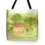 Along The Midi Canal Tote Bag
