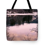 Along The North Thompson Tote Bag