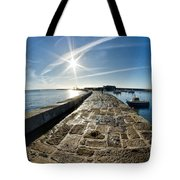 Along The North Wall Tote Bag