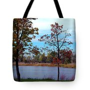 Along The Platte Tote Bag
