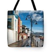 Along The Promenade - Lyme Regis Tote Bag
