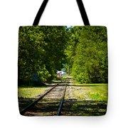 Along The Rails Tote Bag