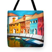 Along The Reflections 3 Tote Bag