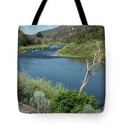 Along The Rio Grande River Tote Bag