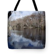 Silver River - Reflections Tote Bag