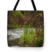 Along The Stream Tote Bag