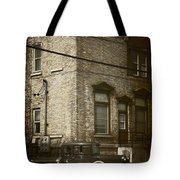Along The Street Tote Bag