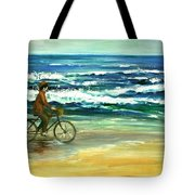 Along The Surf Tote Bag