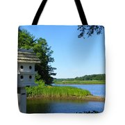 Along The Taunton River Tote Bag