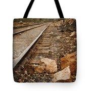 Along The Tracks Tote Bag