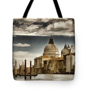 Along The Venice Canal Tote Bag