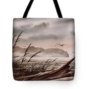 Along The Wild Shore Tote Bag