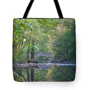 Along The Wissahickon In October Tote Bag