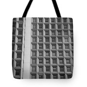 Alot Of Windows In Black And White Tote Bag