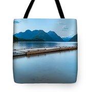 Alouette Lake Dock Tote Bag