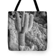 Alpaca Incahuasi Island Black And White Select Focus Tote Bag