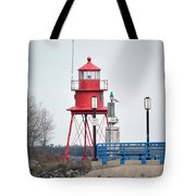 Alpena Lighthouse Tote Bag