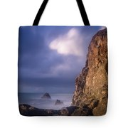 Alpenglow On Wedding Rock Tote Bag