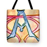 Alpha And Omega - Study #2 Tote Bag