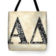 Alpha Delta - Parchment Tote Bag