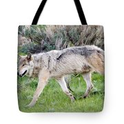 Alpha Wolf On The Move Tote Bag